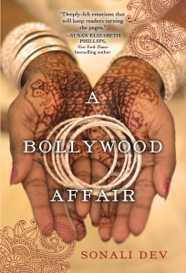 Cover art from A Bollywood Affair
